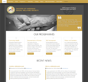 Diocese of Varanasi Social Welfare Society website based on NGO. This site designed and developed by ScripTech Solutions Private Limited.