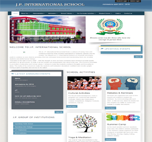 JP International Schools website based on school website. This site designed and developed by ScripTech Solutions Private Limited.