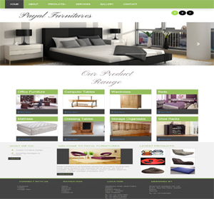 Payal Furnitures website based on furnitures showrooms. This site designed and developed by ScripTech Solutions Private Limited.