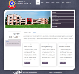 St. Mary School Faridpur website based on school website. This site designed and developed by ScripTech Solutions Private Limited.